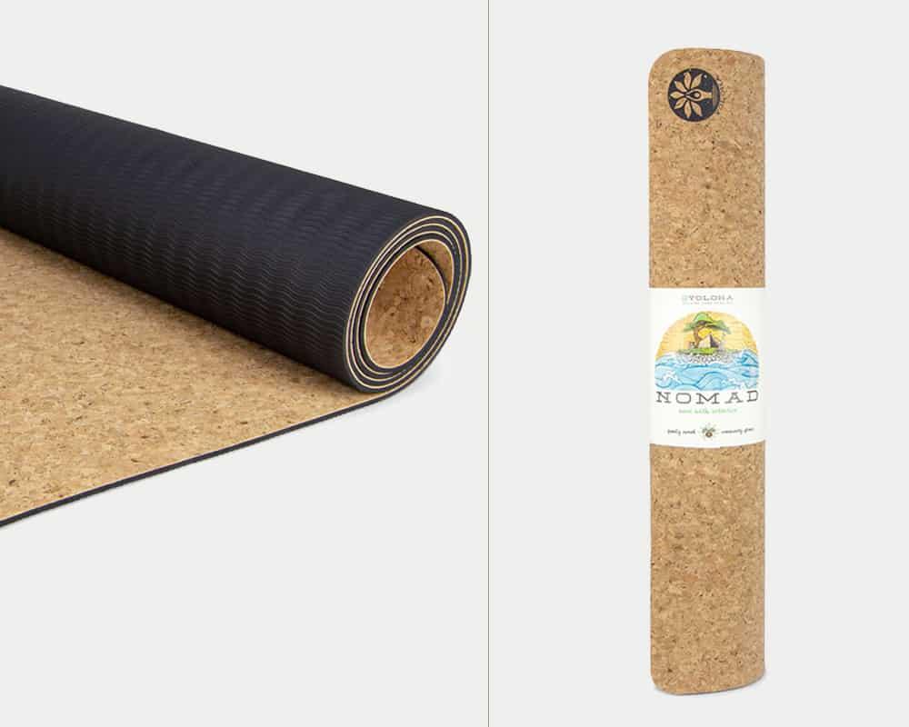 Yoloha Nomad Cork Yoga Mat Eco-friendly yoga mat
