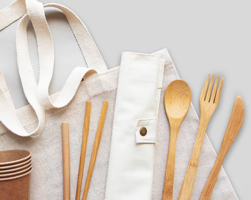 wooden utensil zero waste