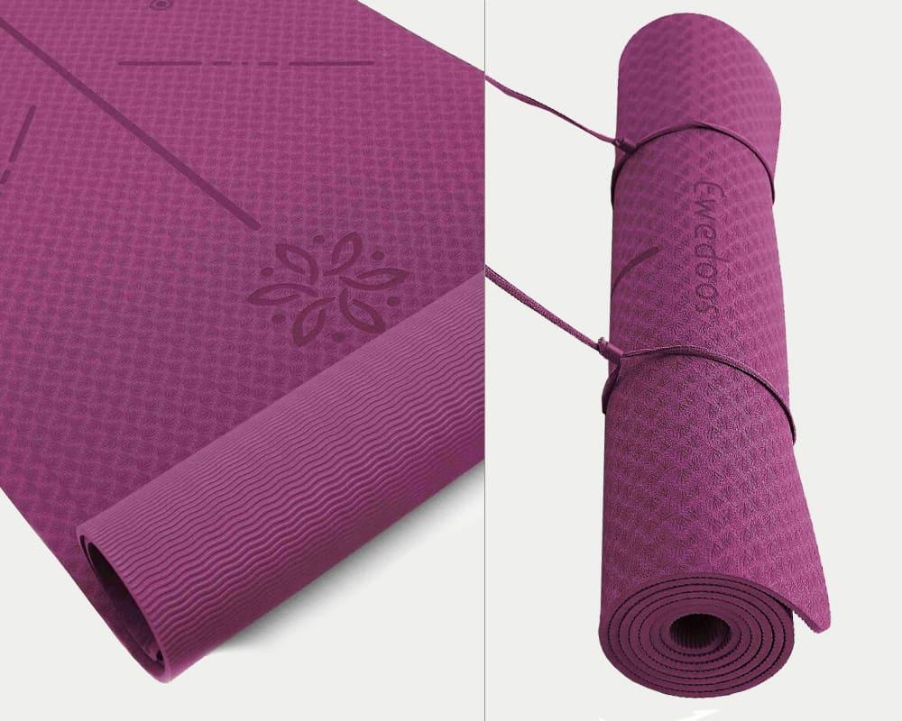 Ewedoos Eco-Friendly Yoga Mat