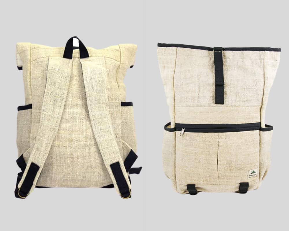 hemp cream backpack