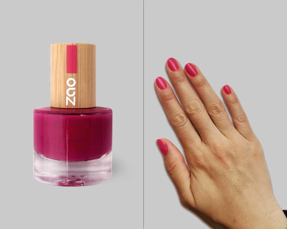 nail polish and hand