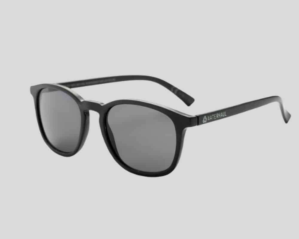 recycled black sunglasses