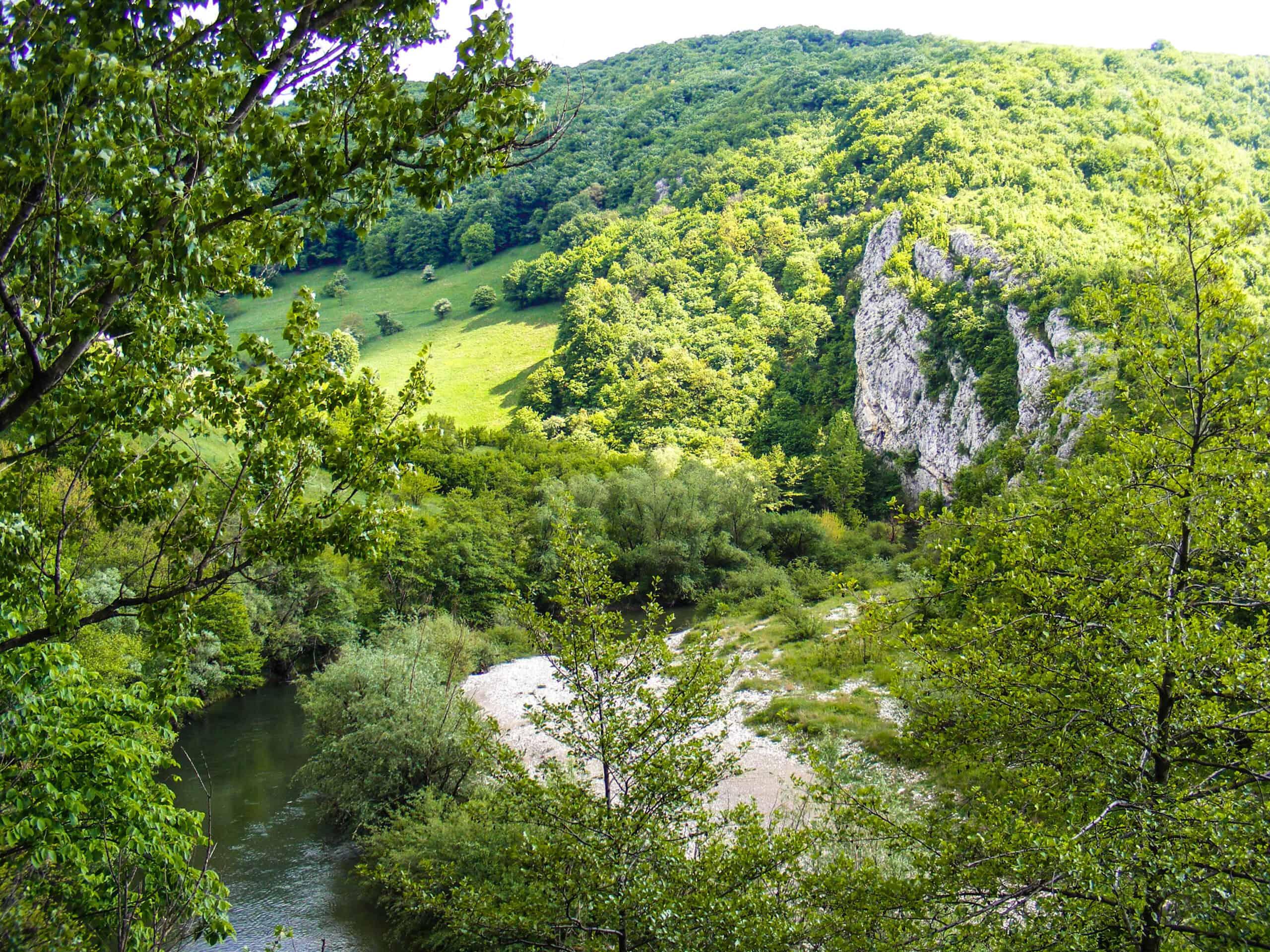 Best ecotourism destination Nera Gorges landscape
