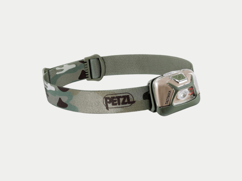petzl head torch camo
