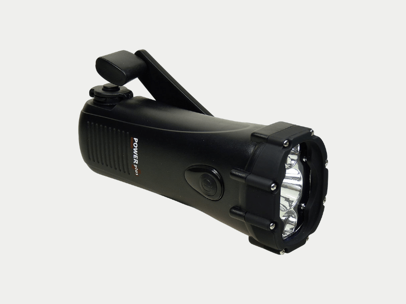 self-charging torch