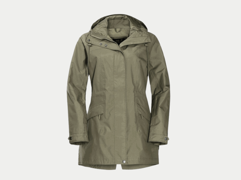 jack wolfskin women waterproof jacket