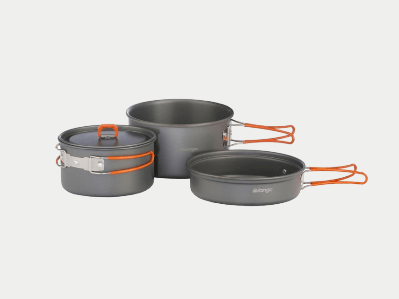 camping light cooking set