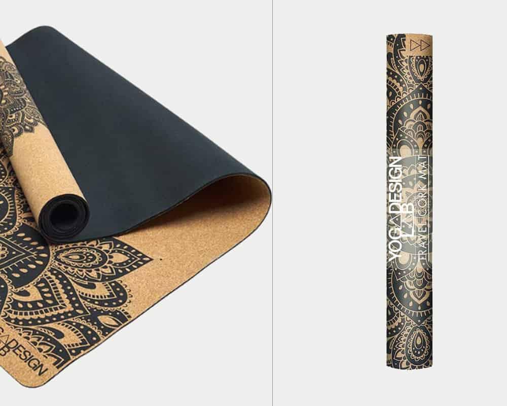 yoga design lab cork mat